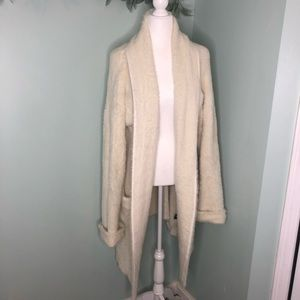 POL Dylan Mohair Style Sweater Jacket/ Cardigan L